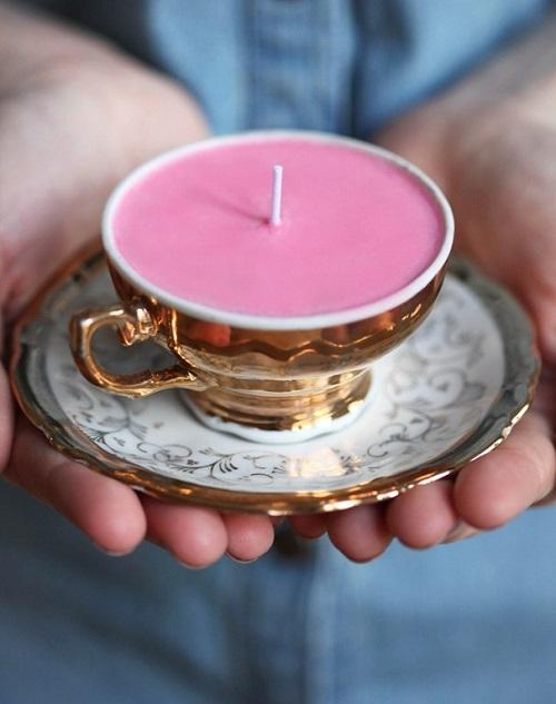Самодельная свеча
