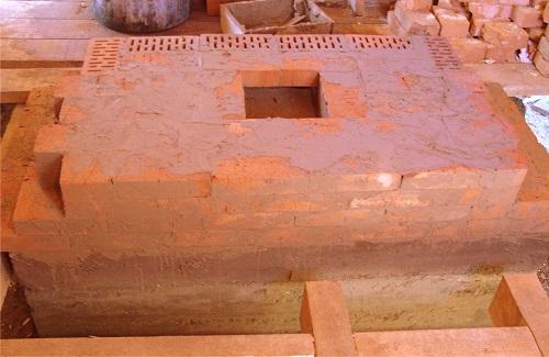 Фундамент камина